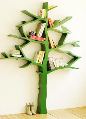 Tree Bookshelf Cool For A Kids Room