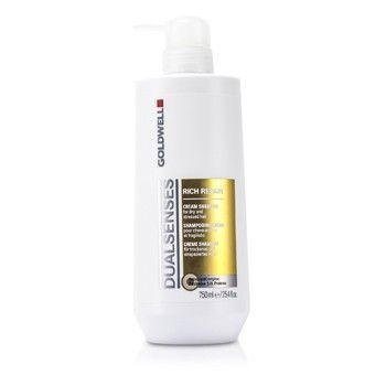 Goldwell Dual Senses Dual Senses Rich Repair Shampoo (For Dry Damaged or Stressed Hair)