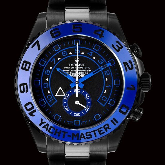 Rolex Yachtmaster 2 Black Face