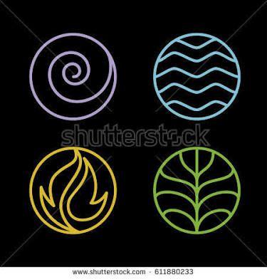Resultado De Imagen Para Earth Wind Fire Water Symbols Tattoos