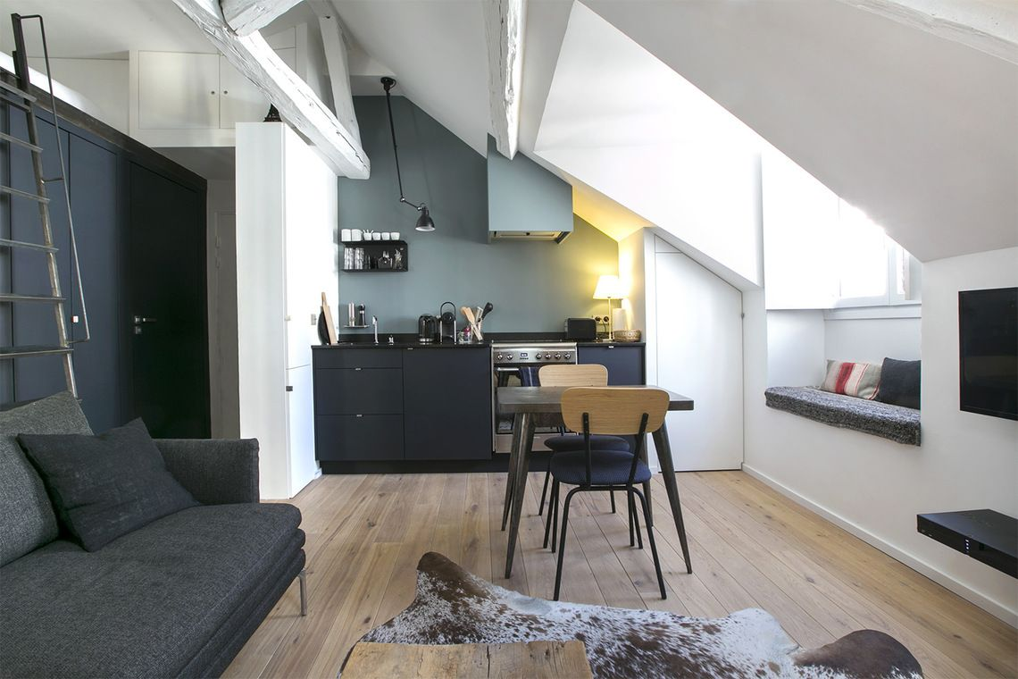 Superbe appartement meubl de 30 m2 situ