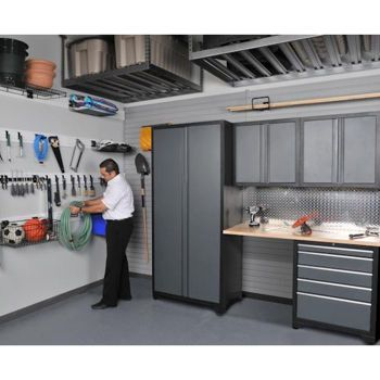 Etonnant NewAge Products Inc. 5 Pc. Heavy Duty Workshop/ Garage Cabinetry