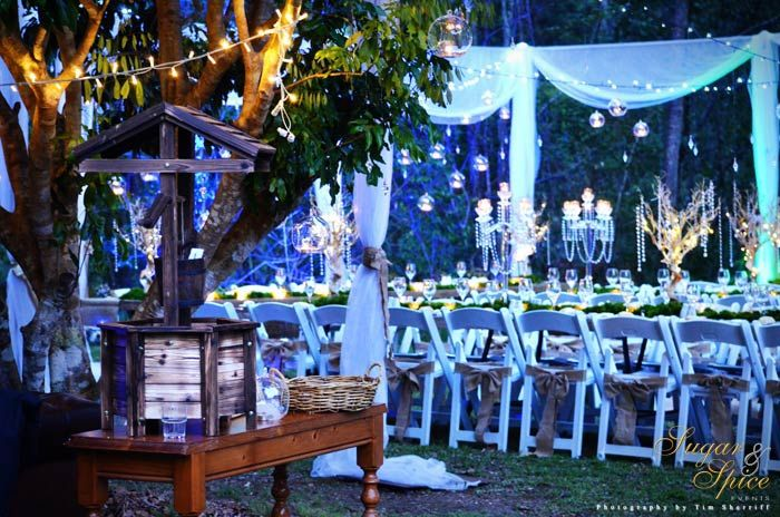 Enchanted Garden Wedding Rainforest Outdoor Whimsical Fairytale Ceremony Rustic Fairyl