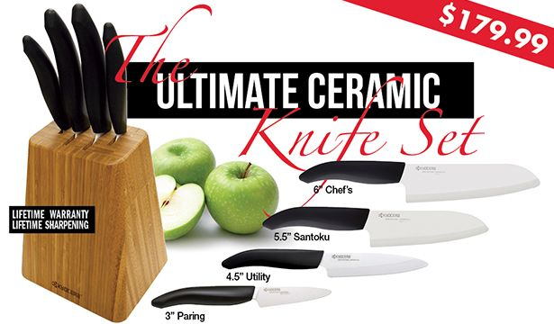 Awesome Kyocera Ceramic Knives   Iu0027ve Heard Such Good Things About These Knives.  Ceramic KnivesKitchen ToolsKitchen ...