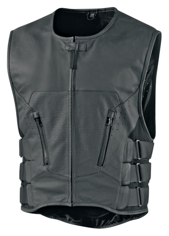 Photo of Icon Regulator D3O Stripped Vest – RevZilla