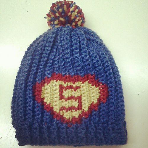 Superman Graph pattern by Kimberly Ragsdale