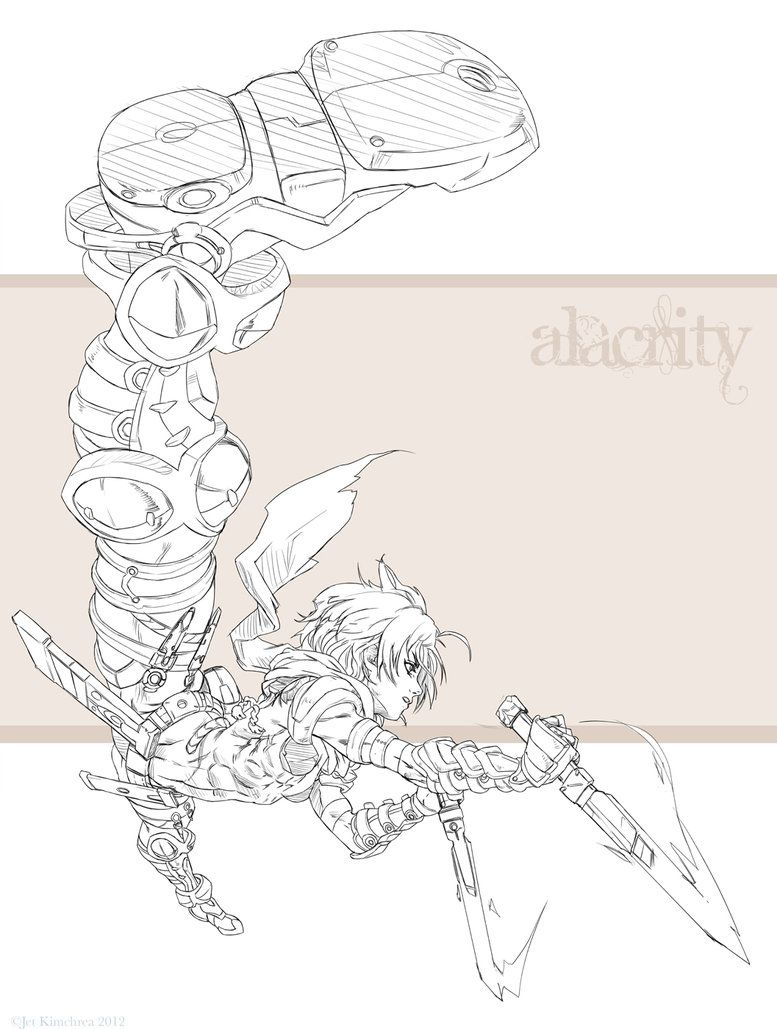 How to Draw Dynamic Poses Manga: Inking by JetEffects   Board
