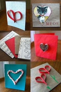 Ideas For Making Valentine Cards From Recycled Materials