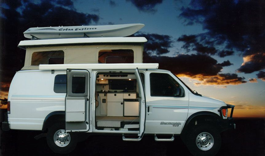2012 Sportsmobile Eb 51 With Penthouse Top Conversion From Ford
