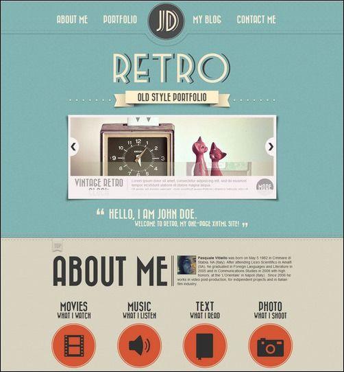 splash magazine 30+ Retro WordPress Theme Designs - Want a Vintage - wordpress resume themes