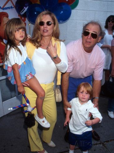 Singer Jimmy Buffett and Wife with their Children Photographic Print