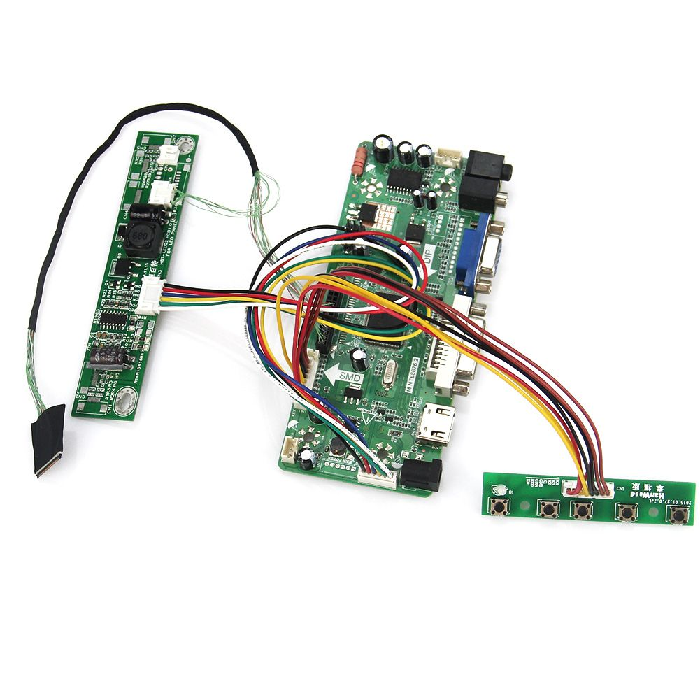 (Buy here: http://appdeal.ru/1mz7 ) M.NT68676 LCD/LED Controller Driver Board(HDMI+VGA+DVI+Audio) For LP133WX3-TLA5  N133IGE LVDS Monitor Reuse Laptop 1280*800 for just US $35.89