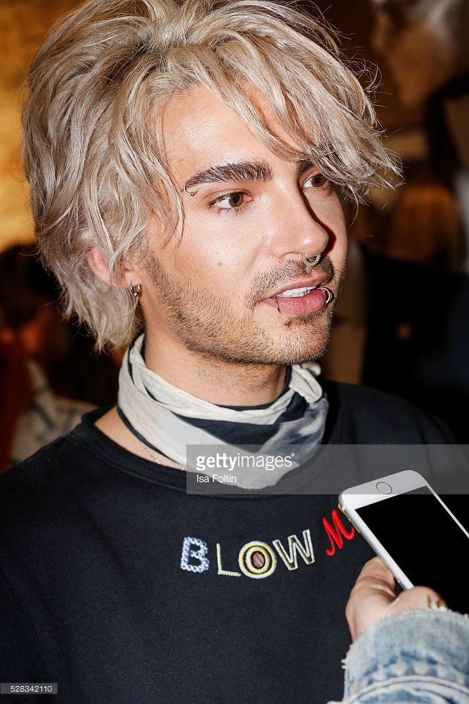 Bill Kaulitz Singer Of The Band Tokio Hotel During The Photo Art