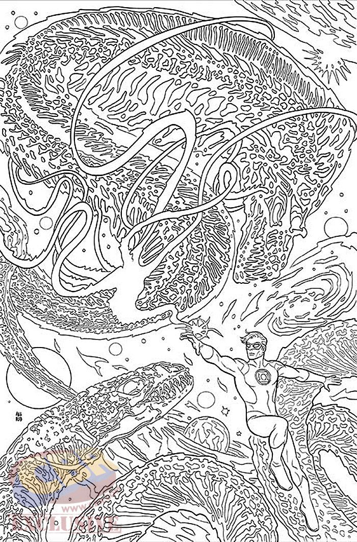Images for : EXCLUSIVE: DC Comics\' Coloring Book Variant Covers by ...