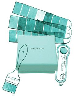 Find A Paint To Exactly Match Tiffany Blue For The Accent