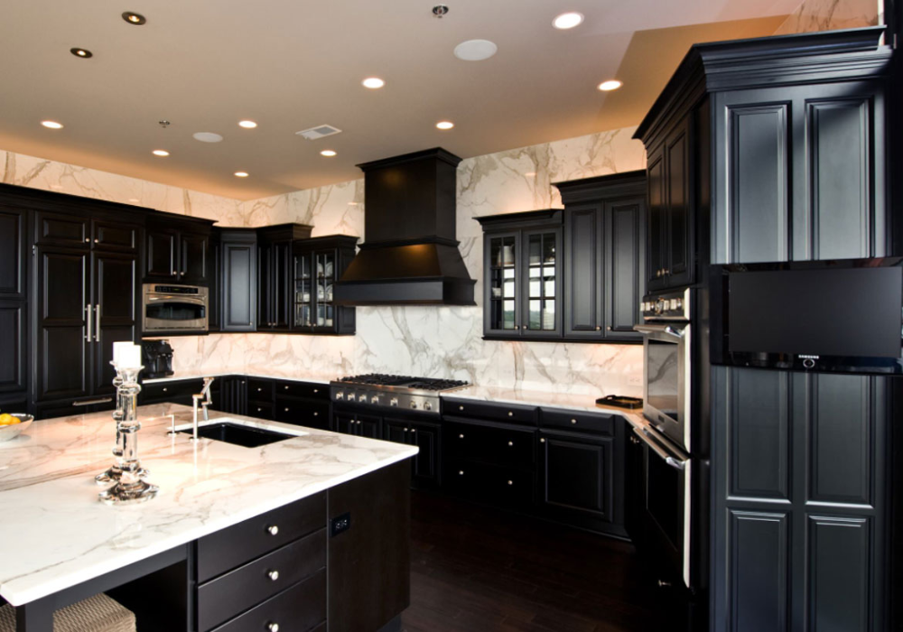 12 Top Trends In Kitchen Design For 2020 in 2020 Black