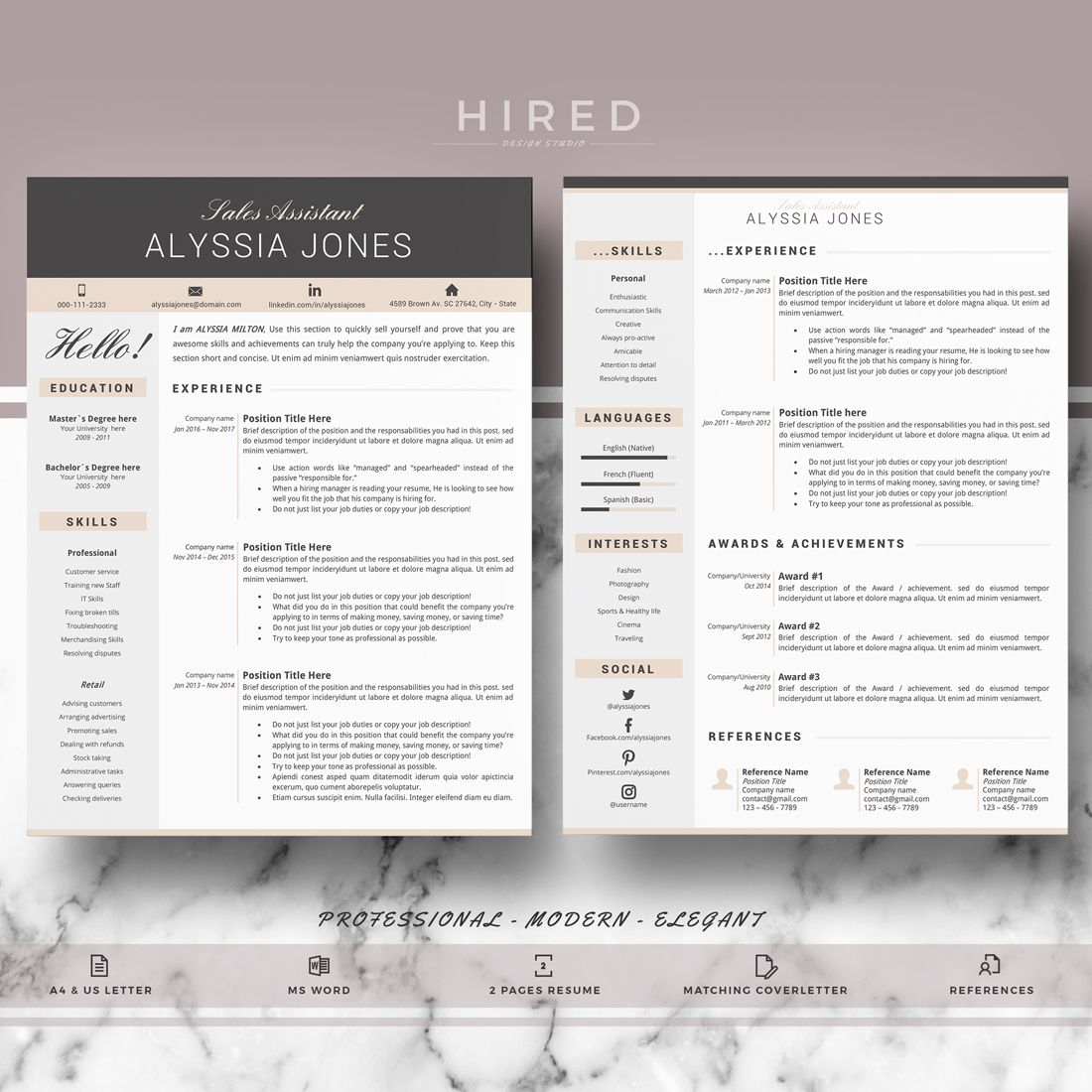 Resume Nabeel Wiring Library Air York Diagrams Conditioners Sn Nggm094663 Cv Template Modern Creative Professional