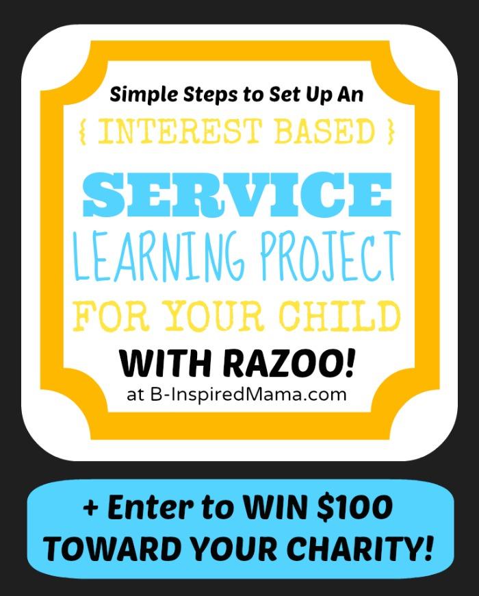 Service Learning for Kids [Sponsored by RazooFundraiser
