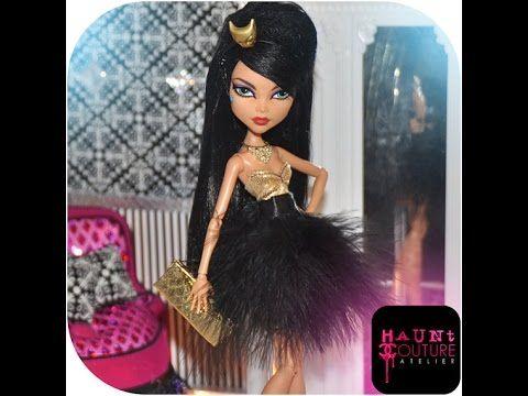 Платья для куклы монстр хай своими руками