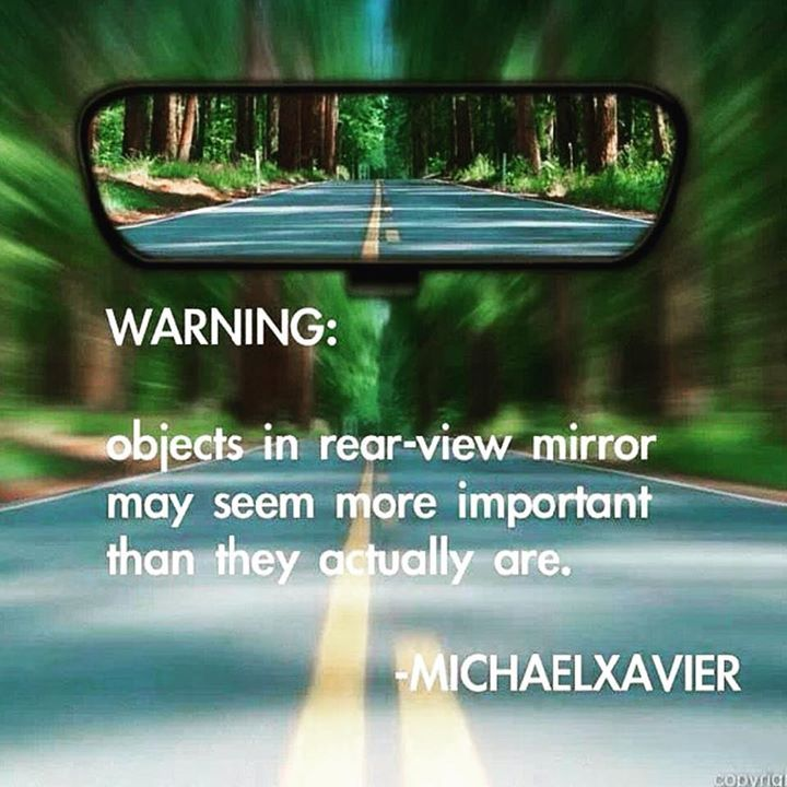 Warning Objects In Rear View Mirror May Seem More Important Than