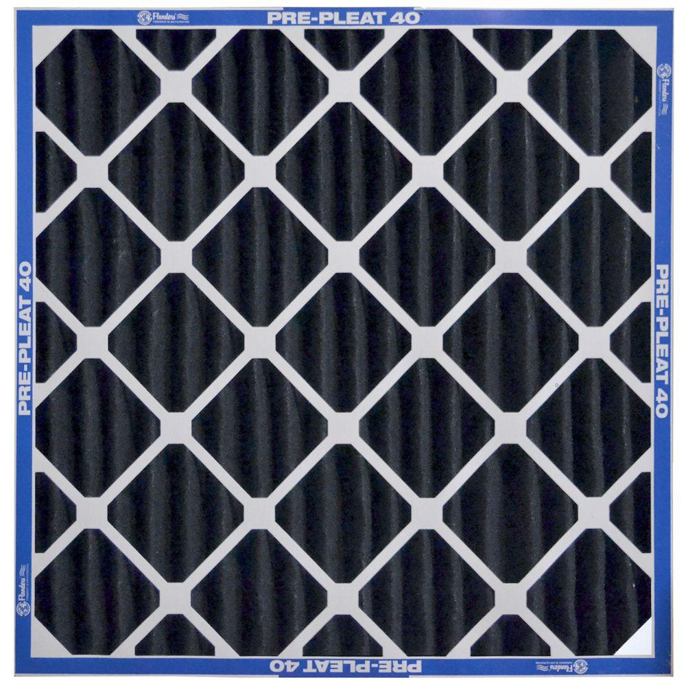 Flanders Precisionaire 25 In X 29 In X 4 In Prepleat 40 Merv 8 Air Filter Case Of 6 Air Filter Electrostatic Air Filter Hvac Filters