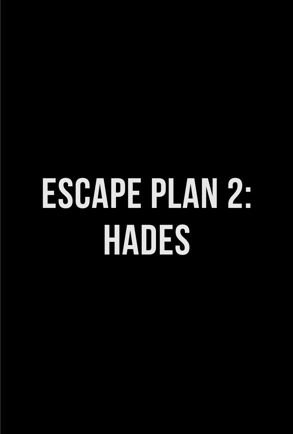 Escape Plan 2 Hades movie poster Fantastic Movie posters # ...
