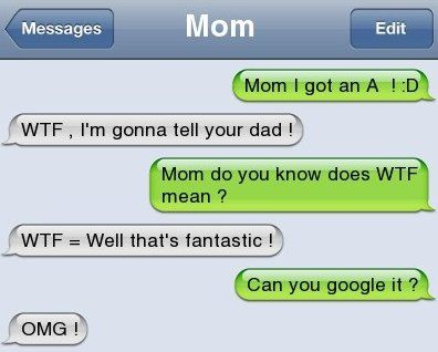 Iphone Sms Wtf And Omg Funny Text Messages Funny Texts