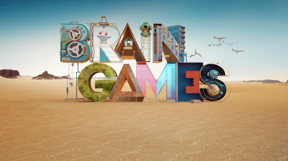 Intricate new CG promo for National Geographic Channel's series Brain Games from Roof director Vinicius Costa.