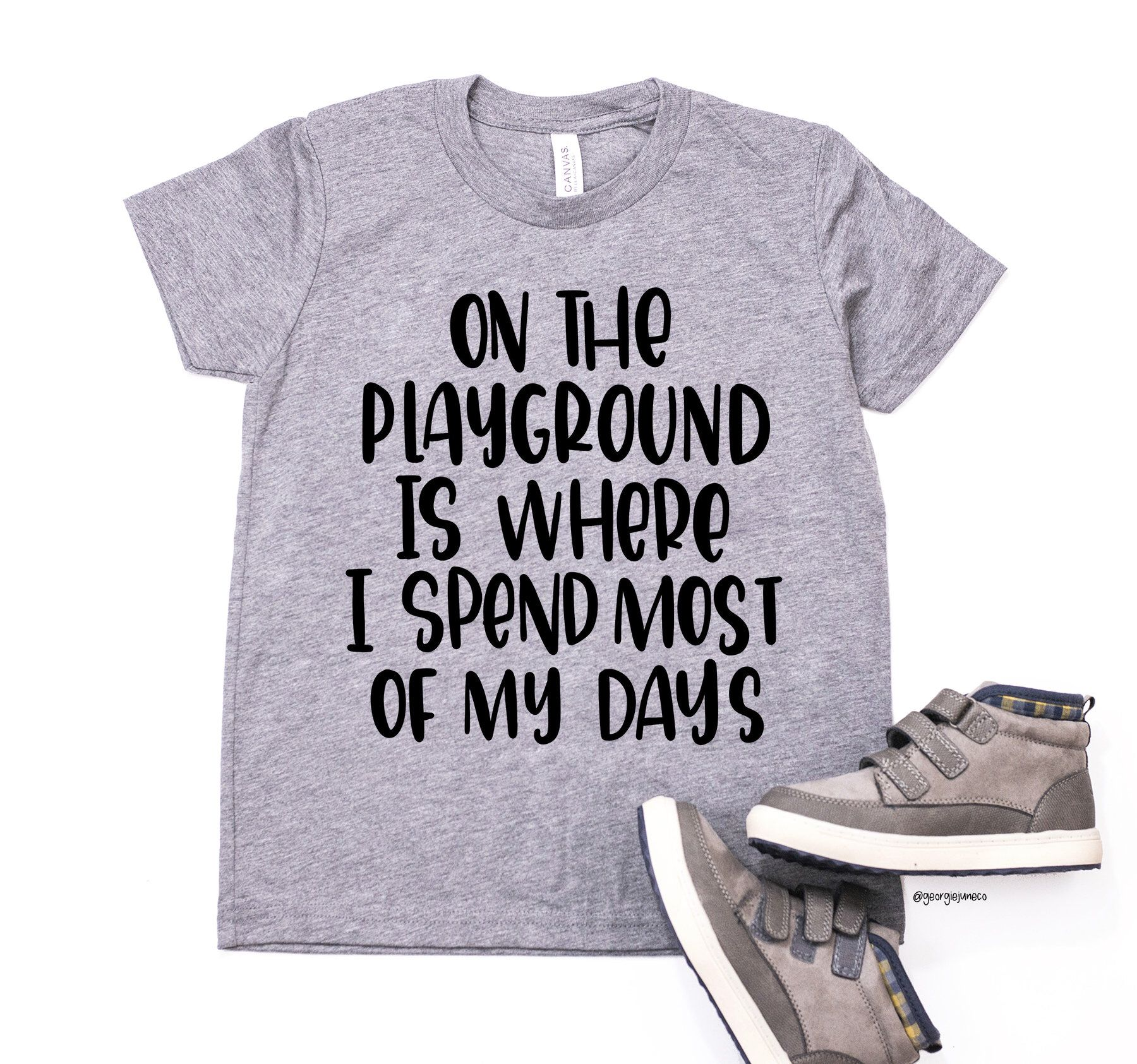 342b6e9ff On The Playground Tee | Fresh Prince Kids Tee | Toddler T-Shirts With  Sayings | Trendy Toddler Clothes | Funny Kids Shirts | Toddler Gifts