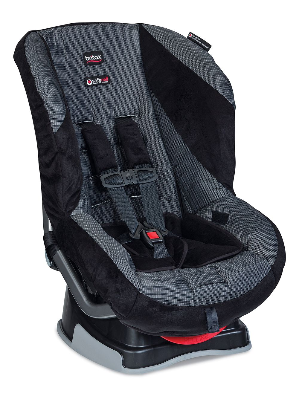 Britax Roundabout convertible car seat in Onyx fashion