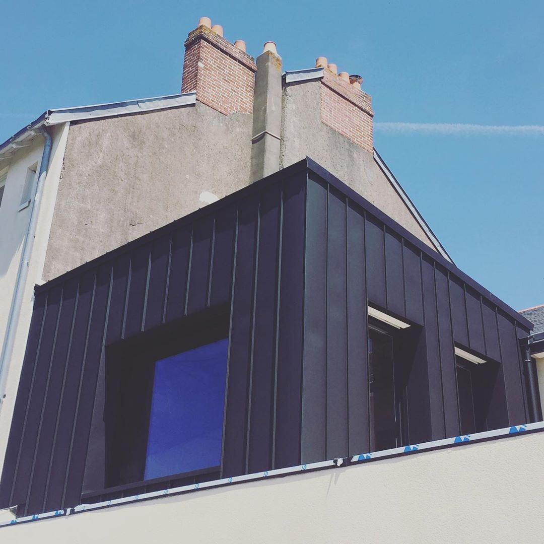 Rue des Nouettes  #agencebldb #architecture #bedroomwithaview #décoration #house #houseextension #interiordesign #nouettes #renovation #workinprogress