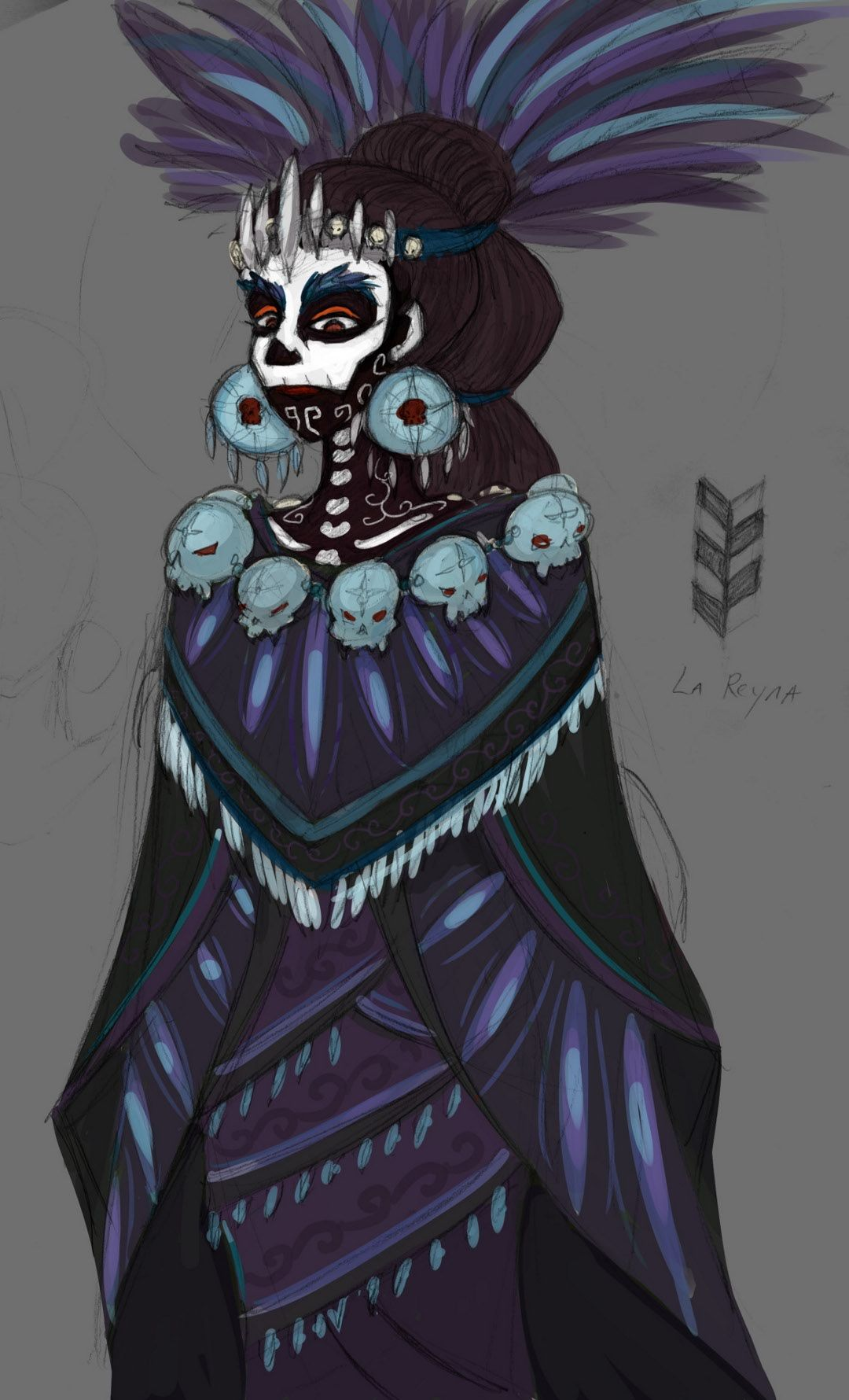 Mictecacihuatl Aztec Goddess of Death + Mictlantecuhtli's wife #aztec
