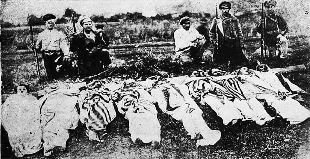 1923 Boguslav Pogrom - Jewish civilians massacred by the ... Pictures Of Pogroms In Poland