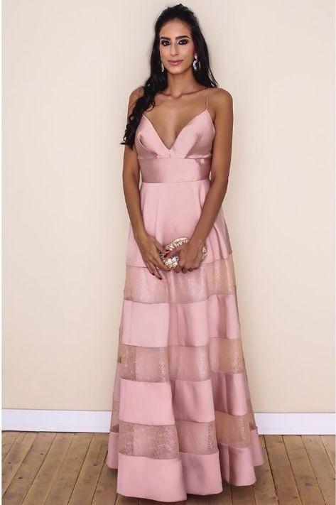 MADRINHAS DE VESTIDOS ROSA | Pinterest | Vestiditos, Vestido rosado ...