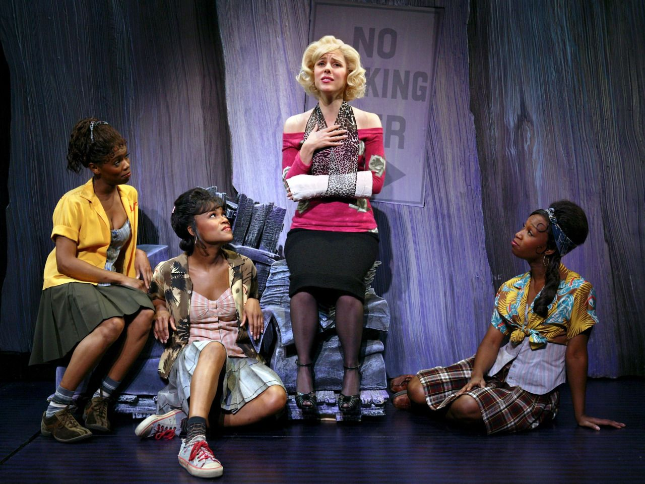 audrey little shop of horrors broadway google search. Black Bedroom Furniture Sets. Home Design Ideas