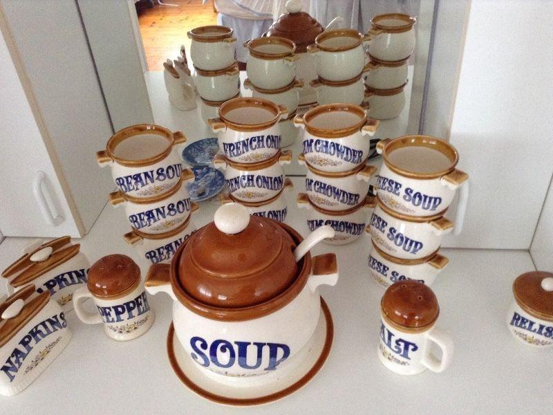 Soup Tureen Set