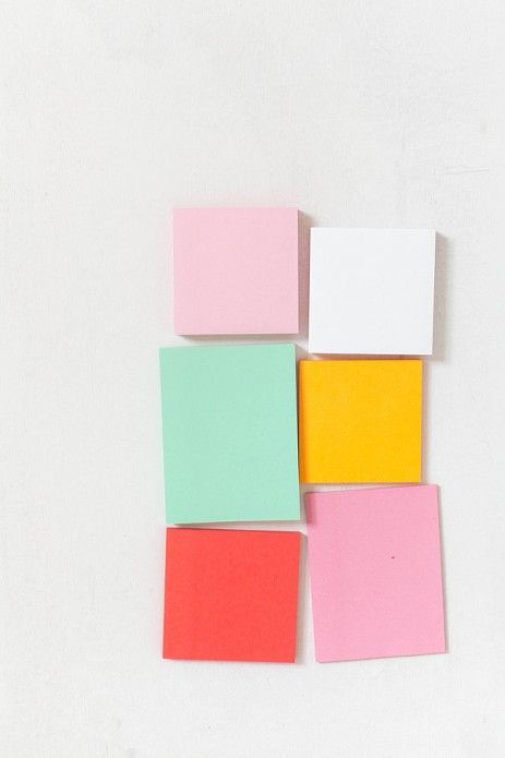 "Here is the ONE thing I do not get about Pinterest. Yes, we pin recipes, craft ideas, DIY, places we'd like to travel. Even pretty art. But why....why do we pin things like this and say ""post-it notes"". It's not even cool looking its just a picture of some post-it notes. Its not inspiring at all... And yes I get that I just pinned this, but it was to make a point lol. We are weird people."