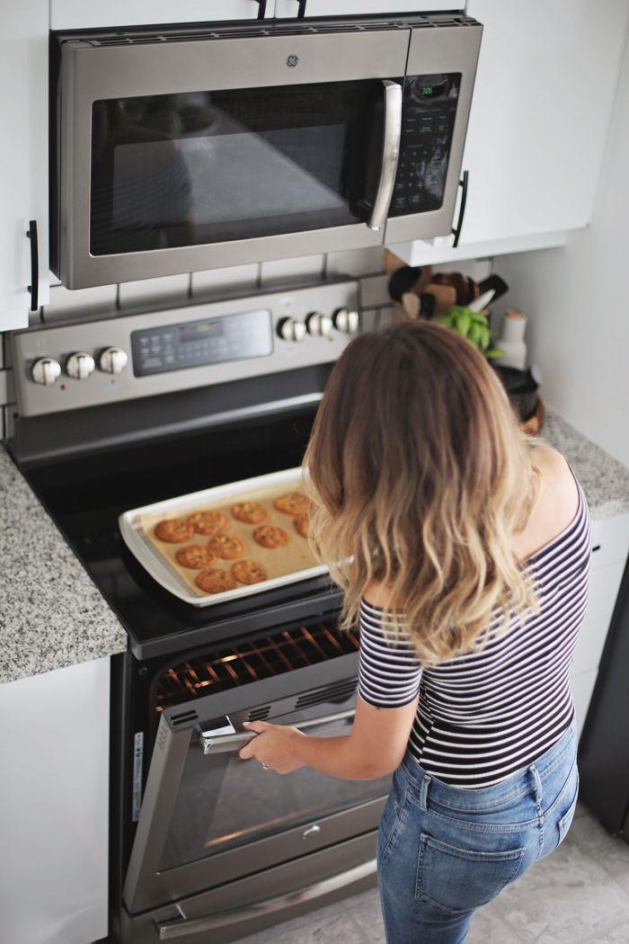 Kitchen Reveal Ge Appliances Giveaway Stephanie Sterjovski