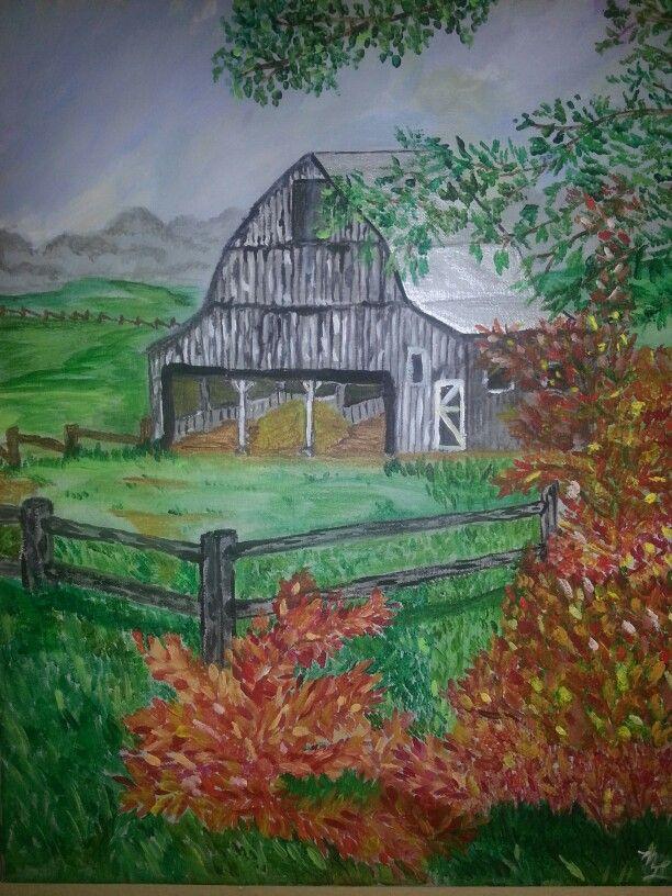 Barn on way to Blue Springs    Missouri