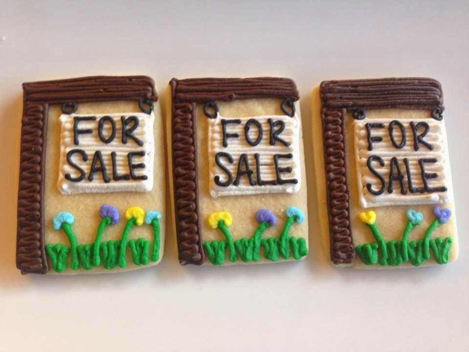 For Sale Cookie Signs House For Sale Cookies Open House
