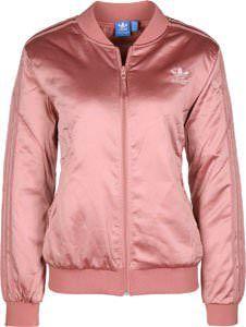 Bomberjacke Rosa/Pink Look ➟ Damen/Herren | Bomberjacke ...