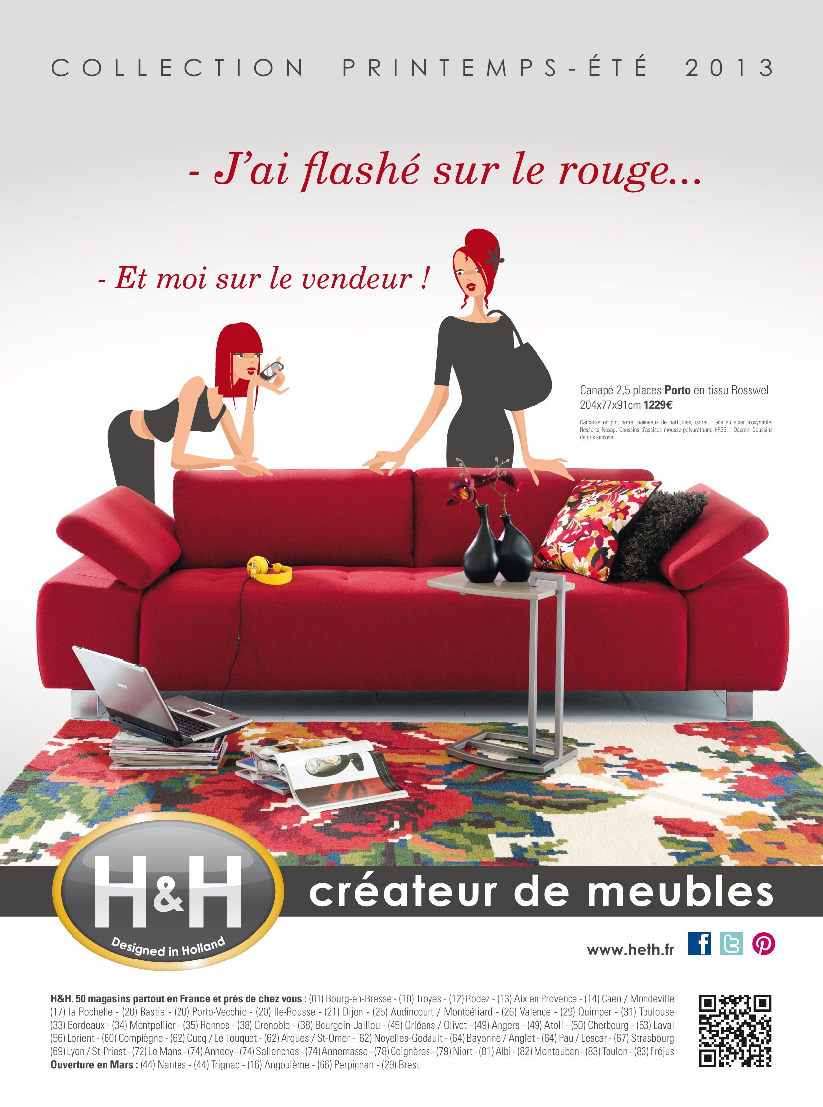 Heth Createur De Meubles Annonce Presse Met Afbeeldingen
