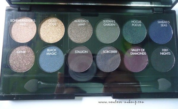 Sleek MakeUP i Divine Arabian Nights Palette Review, Swatches & International Giveaway