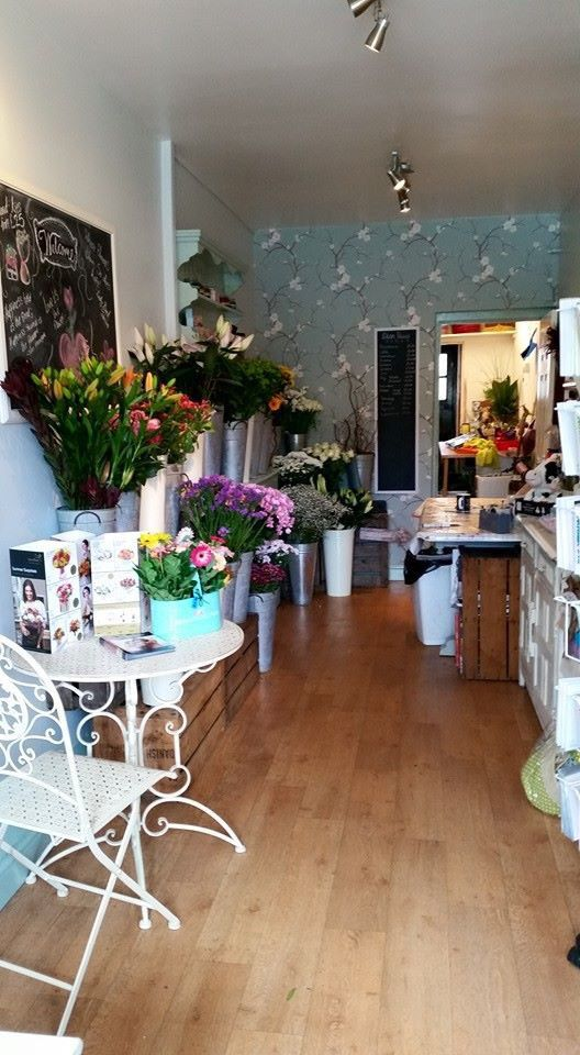 Our lovely little flower shop