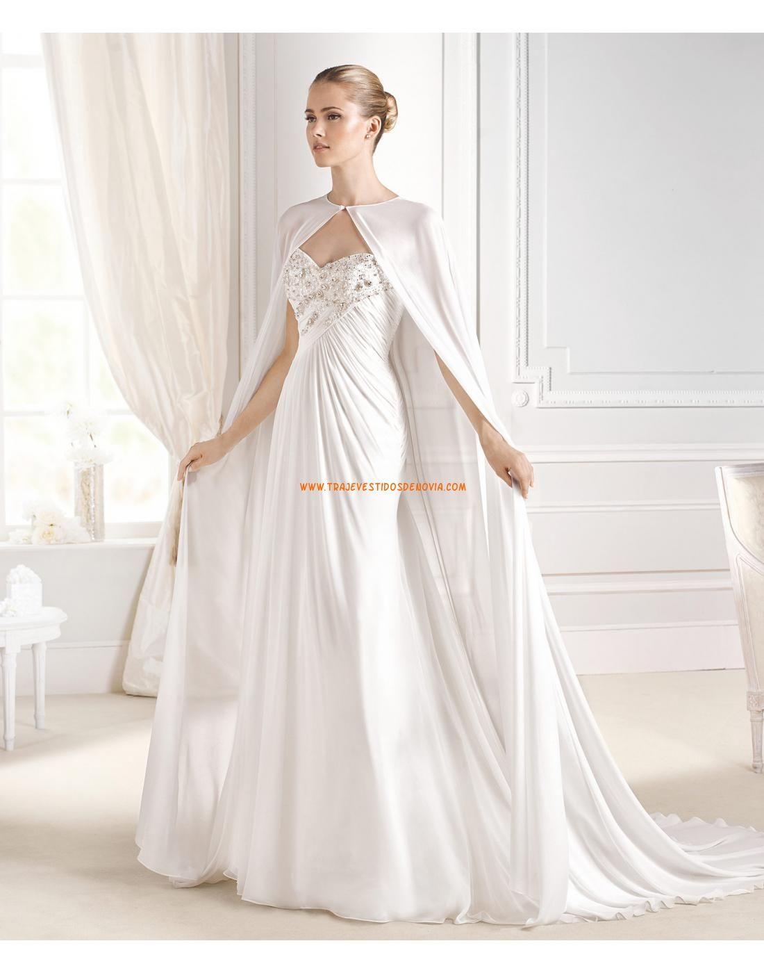 4929a1c71 vestidos de novia en raso de invierno para gorditas - Buscar con Google