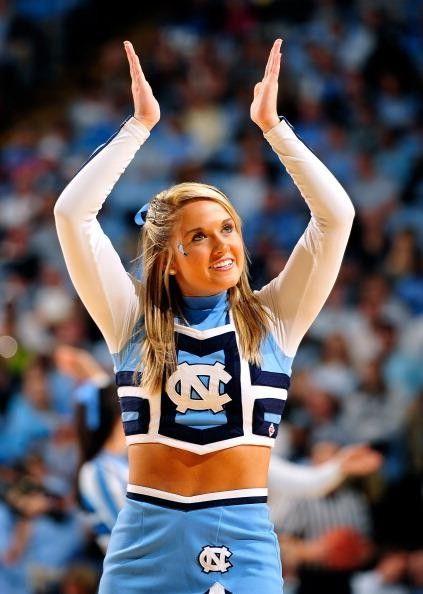 Hottest North Carolina Tar Heels Cheerleaders Slideshow Of Photos
