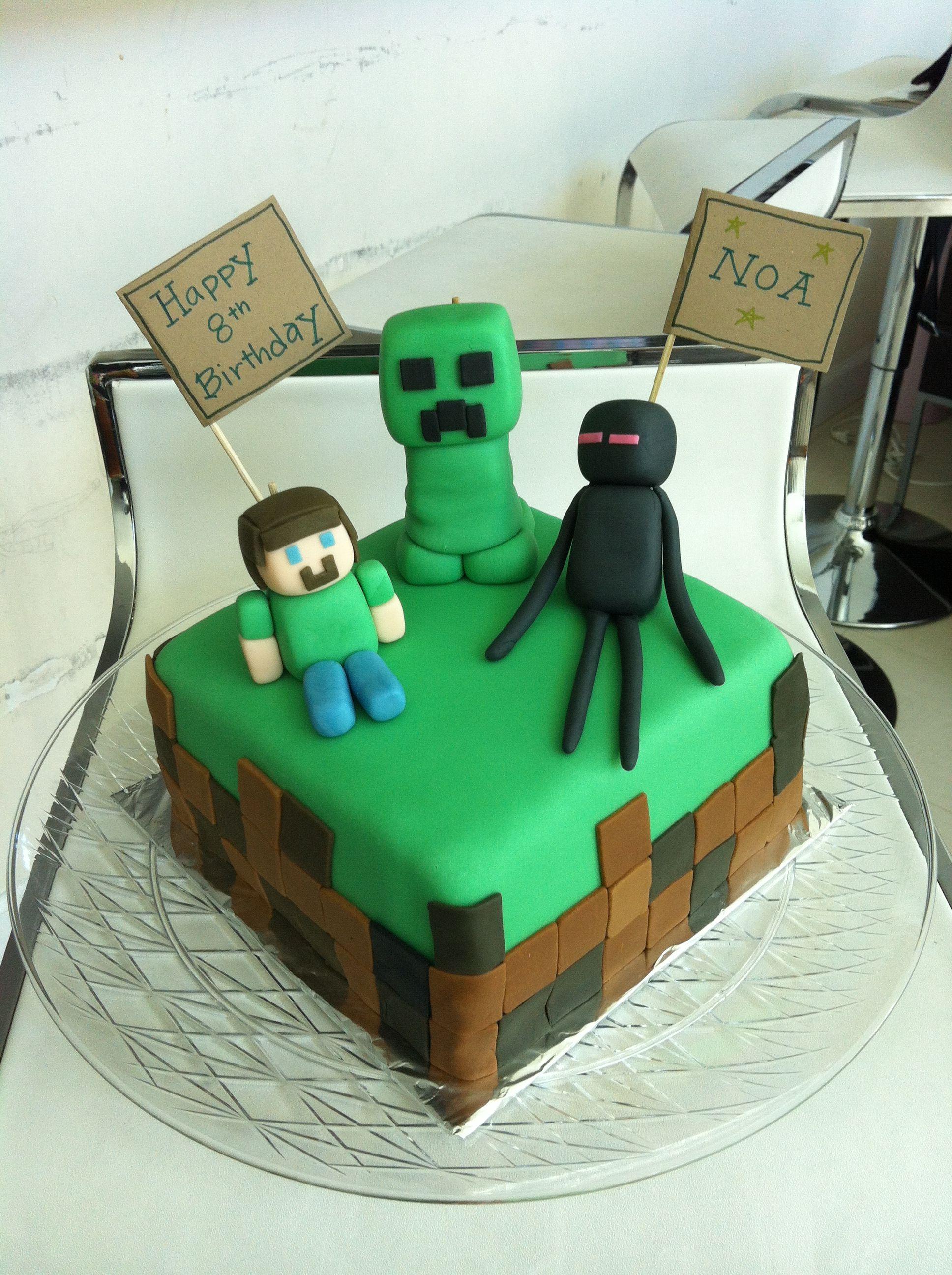 Minecraft Cake Baby Amp Kids Minecraft Birthday Cake