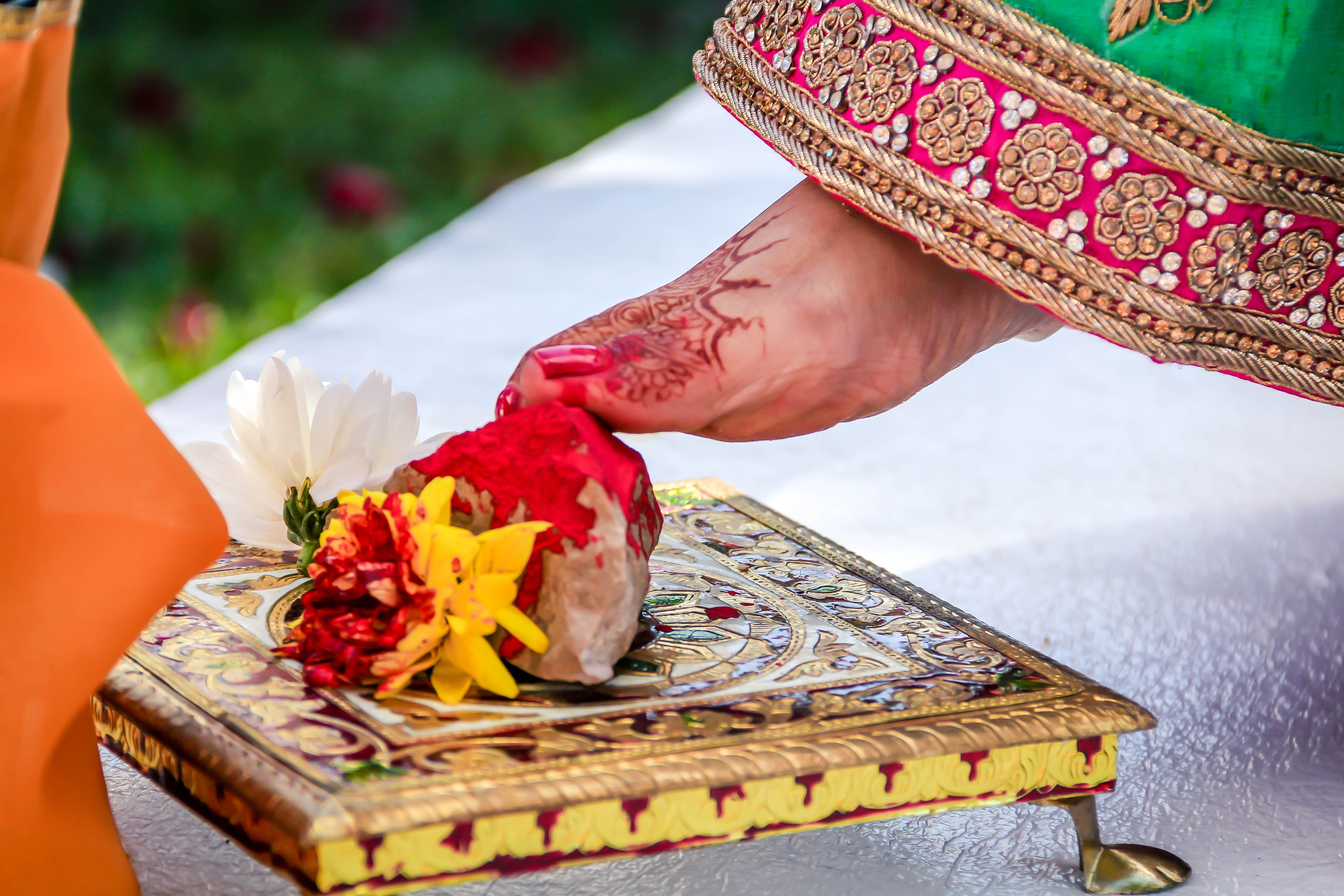 Indian Wedding Ceremony Steps