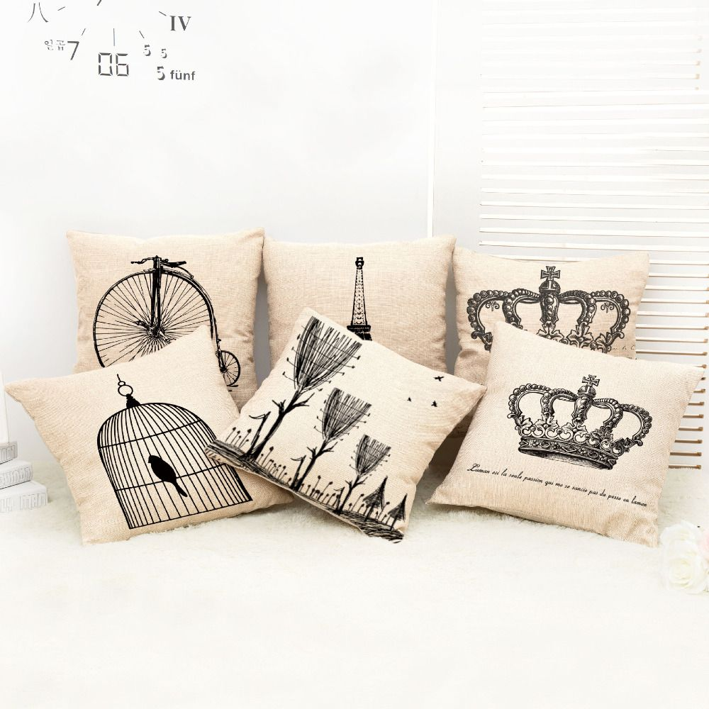 Hot sale seat cushion cover x in big crown decorative home decor