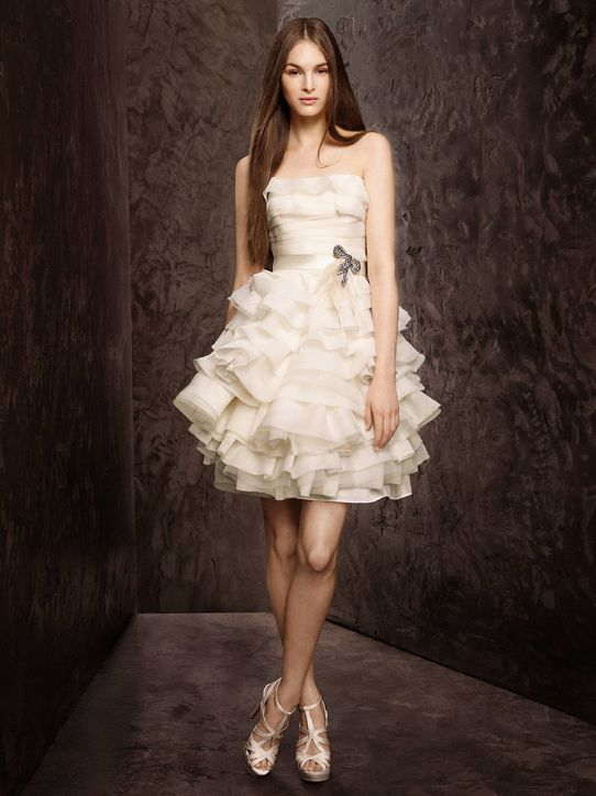Top 2 Wedding Dresses of the Week: Short & Flirty Edition! | Short ...